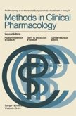 Methods in Clinical Pharmacology (eBook, PDF)