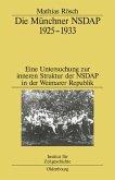 Die Münchner NSDAP 1925-1933 (eBook, PDF)