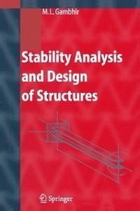 Stability Analysis and Design of Structures (eBook, PDF) - Gambhir, M.L.