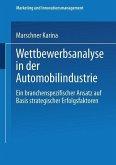 Wettbewerbsanalyse in der Automobilindustrie (eBook, PDF)