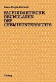 Fachdidaktische Grundlagen des Chemieunterrichts (eBook, PDF)