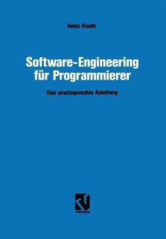 Software-Engineering für Programmierer (eBook, PDF) - Knoth, Heinz