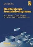 Hochleistungs-Transaktionssysteme (eBook, PDF)