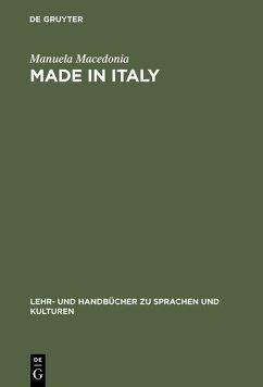 Made in Italy (eBook, PDF) - Macedonia, Manuela