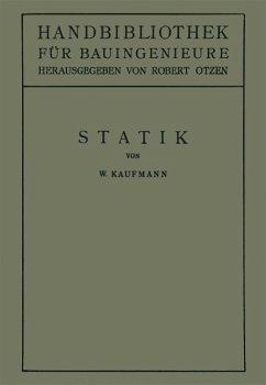 Statik (eBook, PDF) - Kaufmann, Walther