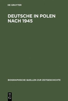 Deutsche in Polen nach 1945 (eBook, PDF)