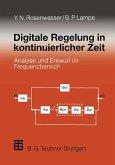 Digitale Regelung in kontinuierlicher Zeit (eBook, PDF)