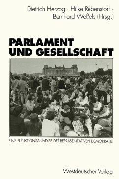 Parlament und Gesellschaft (eBook, PDF)