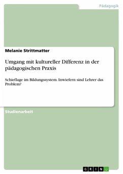 Umgang mit kultureller Differenz in der pädagogischen Praxis (eBook, PDF)