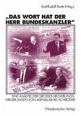 Das Wort hat der Herr Bundeskanzler (eBook, PDF)