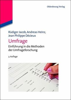 Umfrage (eBook, PDF) - Jacob, Rüdiger; Heinz, Andreas; Décieux, Jean Philippe