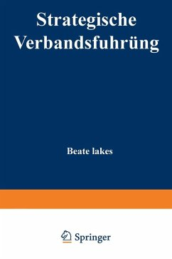 Strategische Verbandsführung (eBook, PDF) - Lakes, Beate