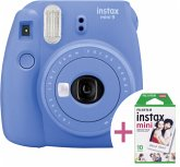 Fujifilm instax mini 9 set Neu inkl. Film kobaltblau