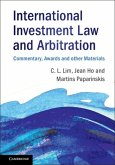 International Investment Law and Arbitration (eBook, PDF)