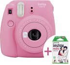 Fujifilm instax mini 9 set Neu inkl. Film flamingorosa