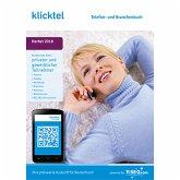 klickTel Telefon- und Branchenbuch Herbst 2018 (Download für Windows)