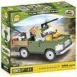 COBI 2157 - SMALL ARMY, Tactical Support Vehicle, Unterstützungs-Fahrzeug, Jeep, Bausatz, 90 Teile und 1 Figur