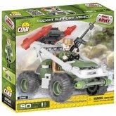 COBI 2156 - SMALL ARMY, Rocket Support Vehicle, Gelände-Buggy, Bausatz, 90 Teile und 1 Figur