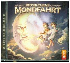Peterchens Mondfahrt, 1 Audio-CD - Holy, David;Jötten, Lukas