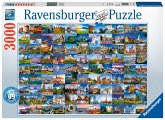 99 Beautiful Places in Europe (Puzzle)