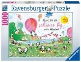 Ravensburger 19473 - Ein toller Tag zum abheben, Puzzle 1000 Teile