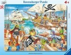 Angriff der Piraten (Rahmenpuzzle)