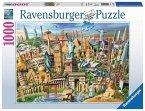 Ravensburger 19890 - Sehenswürdigkeiten weltweit, Puzzle, 1000 Teile