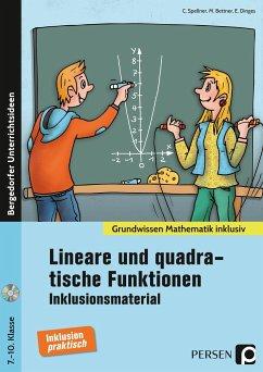 Lineare und quadratische Funktionen - Inklusionsmaterial - Spellner, Cathrin; Bettner, Marco; Dinges, Erik