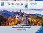 Schloss Neuschwanstein in Bayern (Puzzle)