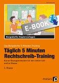 Täglich 5 Minuten Rechtschreib-Training - 3.Klasse (eBook, PDF)