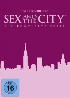 Sex and the City - Season 1-6 - Die komplette Serie DVD-Box