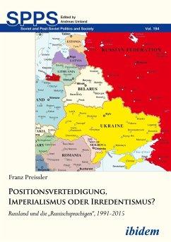 Positionsverteidigung, Imperialismus oder Irred...