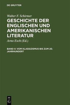 Vom Klassizismus bis zum 20. Jahrhundert (eBook, PDF) - Schirmer, Walter F.