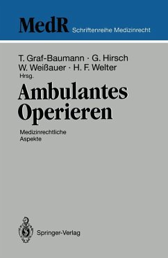 Ambulantes Operieren (eBook, PDF)