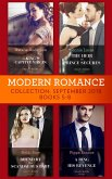 Modern Romance September 2018 Books 5-8: The Heir the Prince Secures / Bound by Their Scandalous Baby / The King's Captive Virgin / A Ring to Take His Revenge (eBook, ePUB)