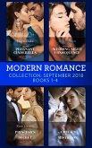Modern Romance September 2018 Books 1-4: The Greek's Blackmailed Mistress / Princess's Nine-Month Secret / Claiming His Wedding Night Consequence / Sheikh's Pregnant Cinderella (eBook, ePUB)