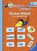 Sticker-Rätsel zum Lesenlernen (2. Lesestufe) (Mängelexemplar)