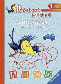 ABC-Rätsel zum Lesenlernen (1. Lesestufe) (Mängelexemplar) - Volk, Katja