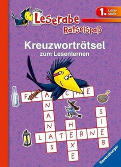 Kreuzworträtsel zum Lesenlernen (1. Lesestufe), lila (Mängelexemplar) - Richter, Martine