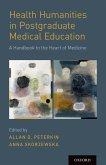 Health Humanities in Postgraduate Medical Education (eBook, ePUB)
