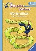 Wörterrätsel zum Lesenlernen (2. Lesestufe) (Mängelexemplar)