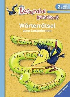 Wörterrätsel zum Lesenlernen (2. Lesestufe) (Mängelexemplar) - Volk, Katja