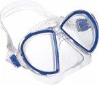Maske Duetto Midi, blue/white