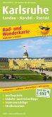 PublicPress Rad- und Wanderkarte Karlsruhe-Landau-Rastatt
