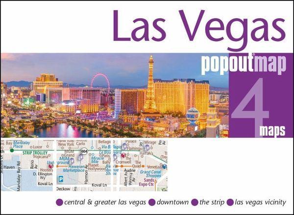 PopOut Map Las Vegas Double
