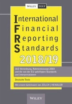 International Financial Reporting Standards (IFRS) 2018/2019 - Zülch, Henning; Hendler, Matthias