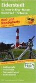 PublicPress Rad- und Wanderkarte Eiderstedt, St. Peter-Ording - Husum, Nordstrand - Pellworm