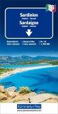 Kümmerly+Frey Karte Sardinien Regionalkarte