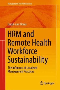 HRM and Remote Health Workforce Sustainability - Onnis, Leigh-ann