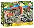 COBI 2164 - SMALL ARMY, Combat Training, Trainingsgelände, Bausatz, 140 Teile und 2 Figuren